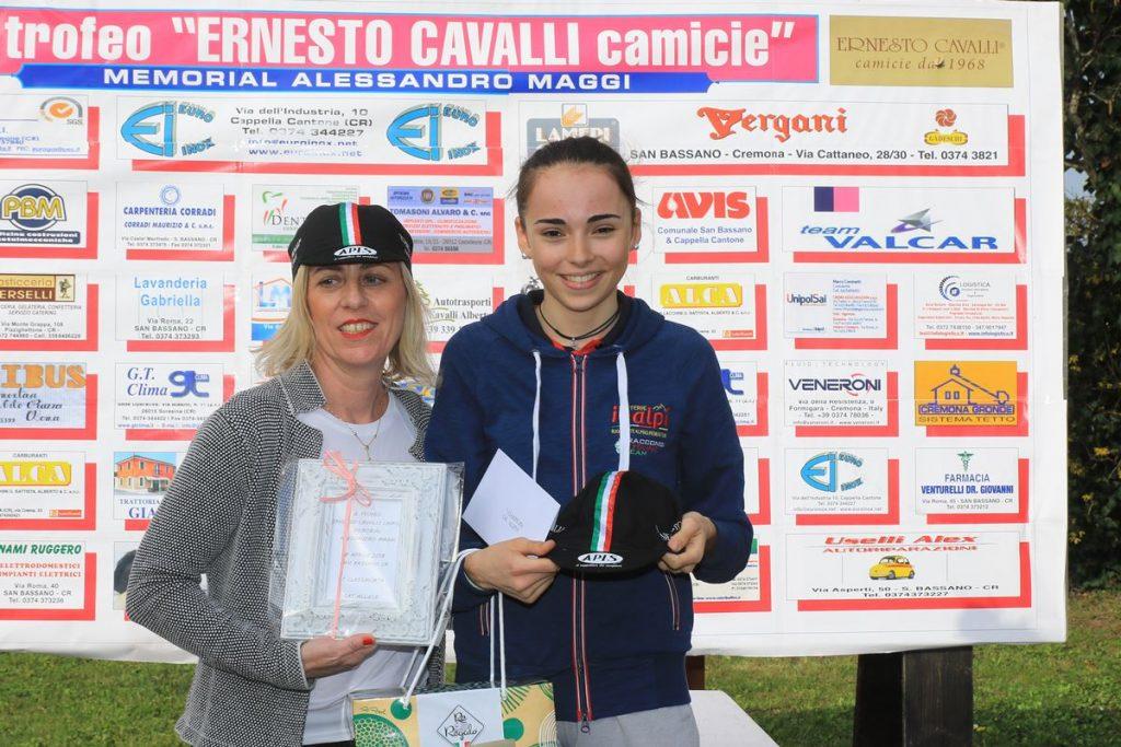 Sylvie Truc settima a San Bassano