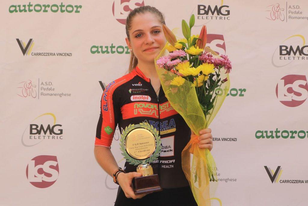Matilde Vitillo seconda a cronometro a Romanengo, uno dei due piazzamenti del weekend
