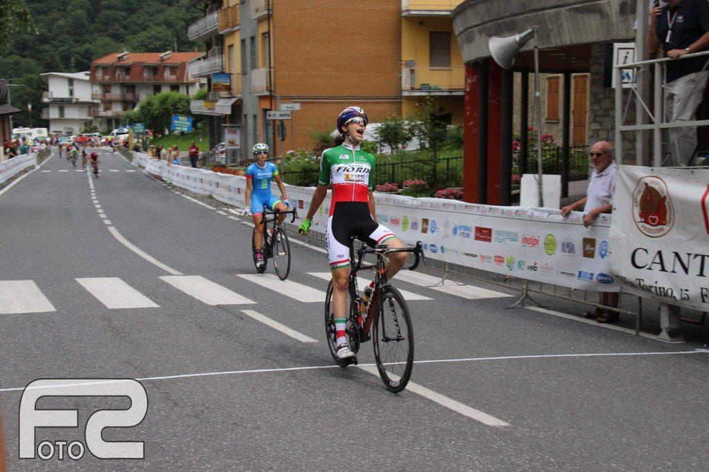 Federica Venturelli vince la prima prova della Tre Giorni in Rosa